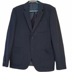 Jack Spade New York Navy Blue Blazer Jacket Coat